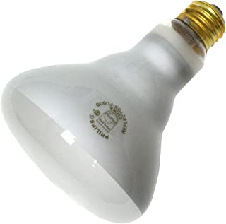 Philips 65 Watt Light Bulb - BR30-2,000 Life Hours - 620 Lumens - 120 Volt (12 Pack)
