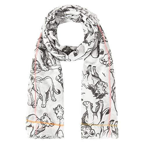 CODELLO Damen XL-Schal Disney König der Löwen aus feiner Sommerbaumwolle