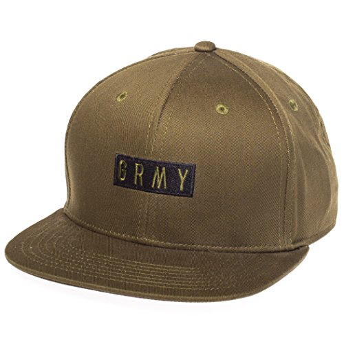GRIMEY Gorra Overcome Gravity Snapback FW17 Olive-Snapback