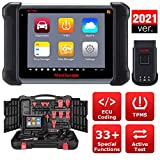 Autel Maxisys MS906TS 2021 Newest Automotive Scan Tool with TPMS Functions / ECU Coding / Full Systems Diagnostics / Active Test / 33+ Special Functions for Mechanics, Car Workshops, DIY