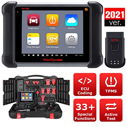Autel Maxisys MS906TS Automotive Scan Tool, MS906TS with TPMS Functions ECU Coding Active Test 2021 Newest Upgraded of MS906BT   MK906BT   MP808TS   MK808TS