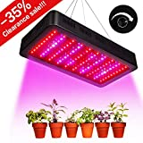 TOPLANET Dimmable 300w Lampe pour Plante Culture Spectre complet LED Grow Light UV&IR...