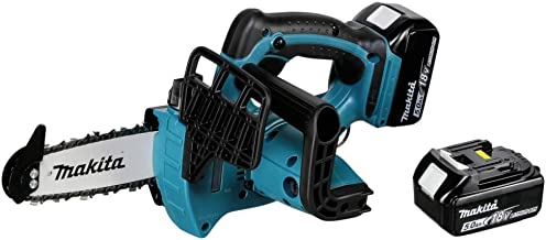 Makita DUC122RTE Top Handle Cordless Chainsaw 18 V / 5.0 Ah, 2 Batteries and Charger in Transport Case