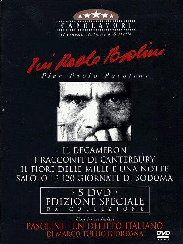 Pier Paolo Pasolini - I Capolavori (5 Dvd)