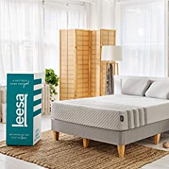 Our mattress: The Leesa Hybrid mattress combines premium foam layers with individually-wrapped pocket springs for superior edge to edge support. The Leesa Hybrid mattress was thoughtfully designed with the best of both worlds, featuring a cooling ave...