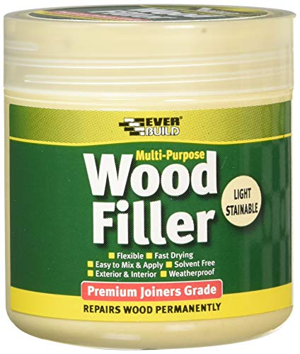 Multi purpose premium joiners grade wood filler - Filling small imperfections in wood - 250ml -...