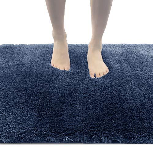 ITSOFT Non-Slip Bath Mat Water Absorbent Densely Woven Shaggy Soft...