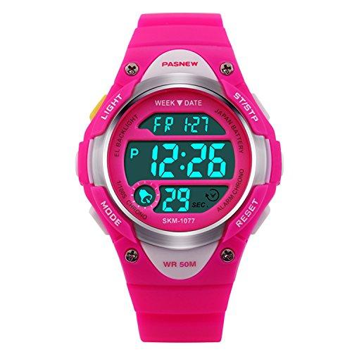 Hiwatch Reloj para Niños/Niñas Deportivos Impermeable 164 pies LED Digital a Prueba...