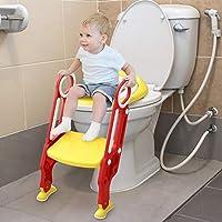 Adatto per servizi igienici di altezza standard, l'altezza dei gradini può essere regolata per adattarsi alle diverse altezze del bambino. È parzialmente piegato e può essere piegato e riposto quando non in uso, risparmiando spazio per il bagno e com...