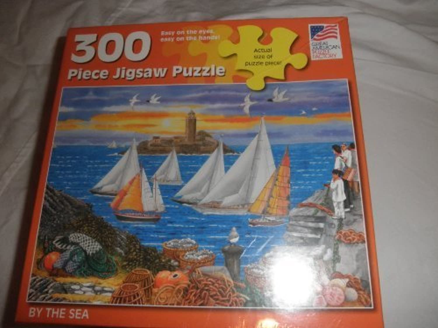 By the Sea Puzzle by Great American Puzzle Factory
