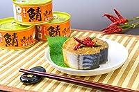 福井缶詰 鯖味付缶詰【唐辛子】 鯖(さば)味付缶 唐辛子入りタイプ 180g 12個