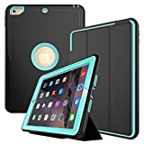 New iPad 9.7 2018/2017 Case - Three Layer Heavy Duty Shock