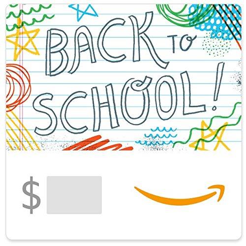 Amazon eGift Card -Back to School (Doodles)