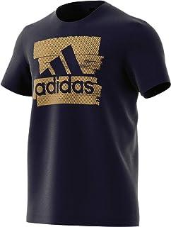 92591573f Adidas Men's Foil Badge Of Sport Graphic Tee (Short Sleeve), Multicolor  (Legend