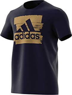 adidas Mens Foil Badge of Sport Graphic Tee (Short Sleeve)
