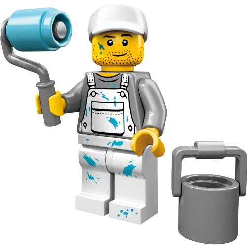 LEGO 71001 - Minifigur Malermeister aus Sammelfiguren-Serie 10