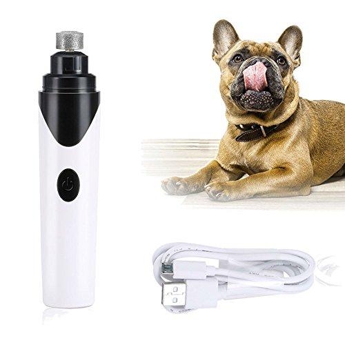 Hangang hondenstaart, elektrische tondeuse voor katten en kleine huisdieren, oplaadbaar en draagbaar, inclusief USB-kabel