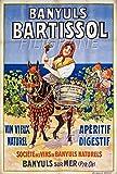 PostersAndCo BARTISSOL VIN BANYULS Rkqz-Poster/Reproduction 40x60cm* d1 Affiche Vintage/RéTRO