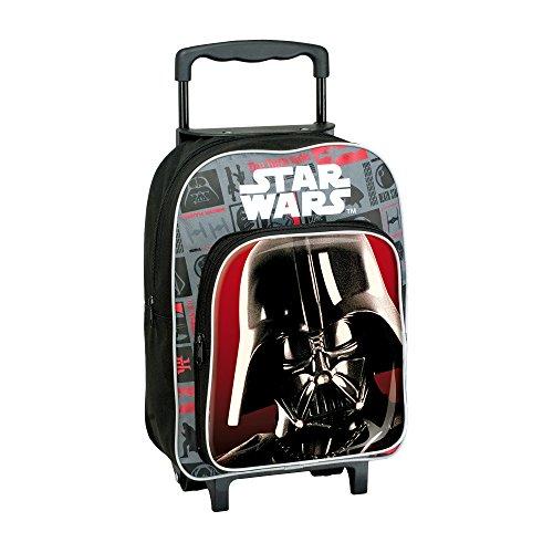 Star Wars AR663 - Mochila Carro Capacidad 34 x 13 x 30 cm Mochila Infantil 44 cm, Multicolor