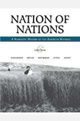 Nation of Nations: A Narrative History of the American Republic Hardcover