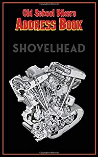 Address Book Shovelhead: Motorcycle Rider Gear themed Retro rockabilly Tabbed in Alphabetical Order, Perfect for Keeping T...