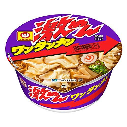 マルちゃん 激めんワンタンメン 92g×12個入り (1ケース)