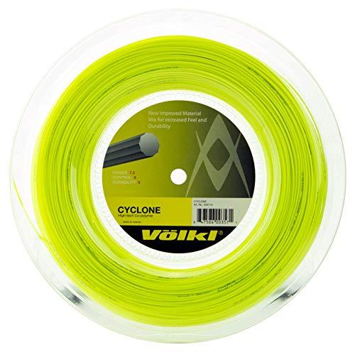 Volkl Cycloon Tennis String – 200m Reel, Kleur- Geel, Meter- 1.25mm