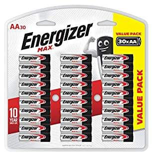 Energizer AA Batteries, MAX Alkaline, 30 Pack (B006T9D4XG)   Amazon price tracker / tracking, Amazon price history charts, Amazon price watches, Amazon price drop alerts