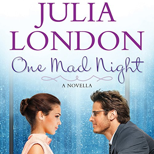 One Mad Night audiobook cover art