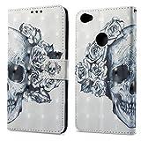 Ooboom® Xiaomi Redmi Note 5A Prime Coque 3D PU Cuir Flip Housse Étui Cover Wallet Case avec...