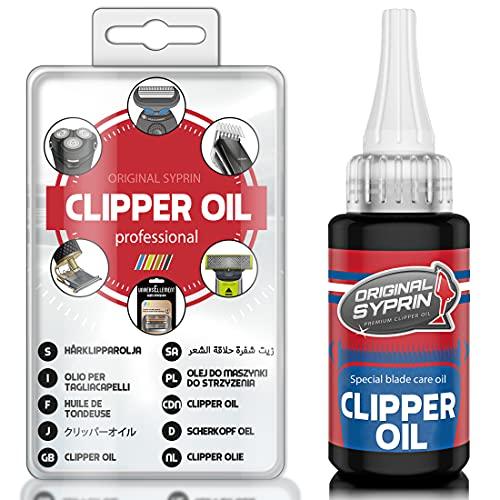 Original Syprin Premium Clipper Oil for Hair Trimmers, Hair Clippers,...