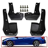 A-Premium Splash Guards Mud Flaps Compatible with Honda Civic Si Sedan 2017-2020 Front and Rear Set of 4