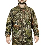 Mossy Oak Men's Break-Up Country, Sherpa 2.0 Lined Jacket, Large