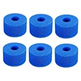 Sucute Intex Pure Spa - Cartucho de filtro de espuma S1 (6 unidades), color azul