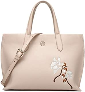 Ladies Handbag Embroidery Flowers High Quality Pink Ladies Clutch Bag Simple Leisure