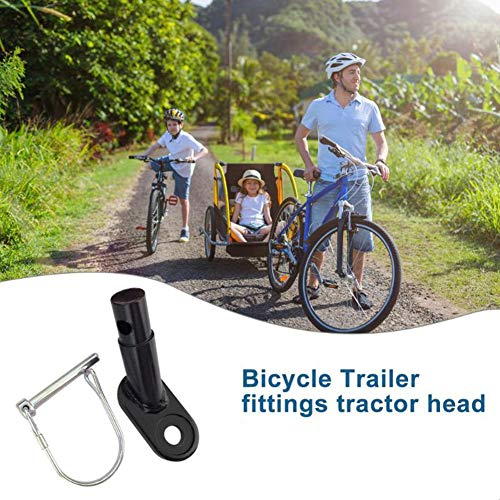 Purchase 1PC Bike Trailer Coupler Bicycle Trailer Hitch Bike Trailer Coupler Mount Adapter Bike Rear...