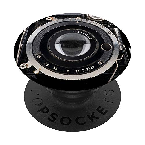 Vintage Manual Camera Lens PopSockets PopGrip: Swappable Grip for Phones  New Hampshire