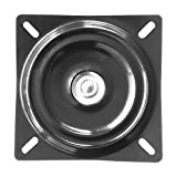 MySit 7' Bar Stool Swivel Plate Replacement, Square Swivel Mechanism for Recliner Chair or Furniture - Ball Bearing Swivel Boat Seat (SwivelPlate_7)