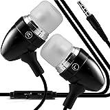 (Hot Pink) Samsung Galaxy J7 de qualité en aluminium élégant premier écouteur oreille oreille écouteurs stéréo mains étui...