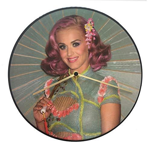 Reloj de vinilo Katy Perry, disco de vinilo de 33 T, Vintage,...
