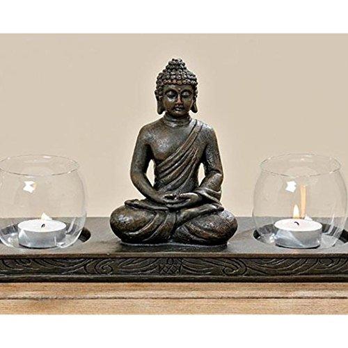 Windlicht Buddha L32cm