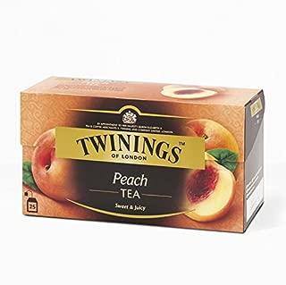 Twinings Peach Flavoured Black Tea 50g. (2g.x25 Sachets)