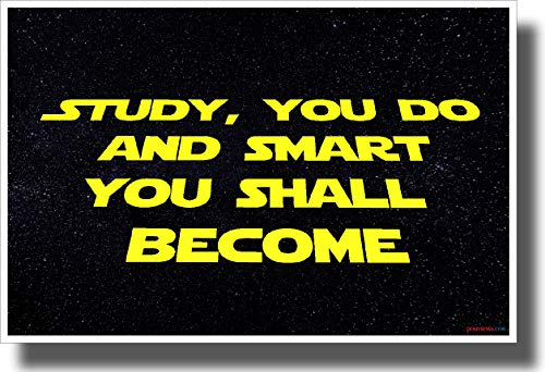 PosterEnvy Study You do and Smart You Shall Become - New Motivational Classroom Poster