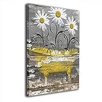 Skydoor J パネル ポスターフレーム 素朴 黄色の ひまわり インテリア アートフレーム 額 モダン 壁掛けポスタ アート 壁アート 壁掛け絵画 装飾画 かべ飾り 30×20