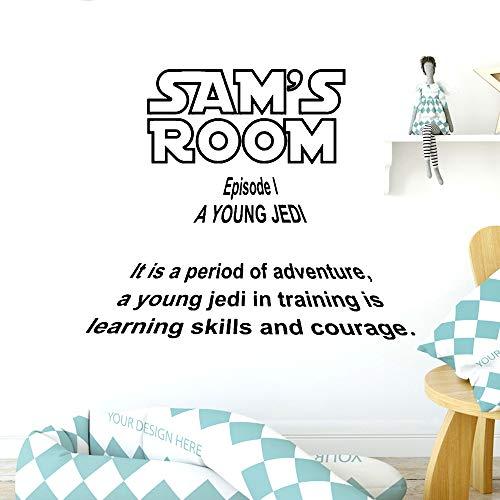 Frase en inglés familia etiqueta de la pared mural artista decoración del hogar PVC etiqueta de la pared etiqueta de la pared accesorios para el hogar habitación de los niños aprendizaje inspirador