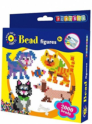 Playbox - Bead set 2000 Cat & Dog