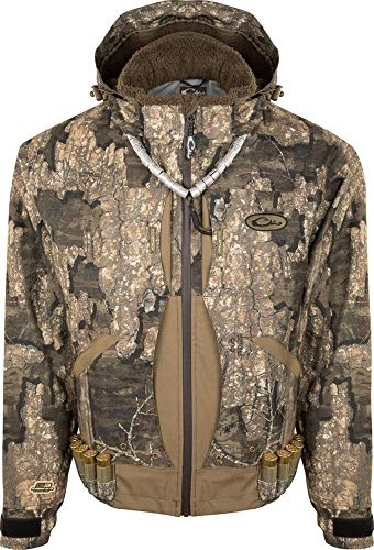 Lowest Prices! Drake Guardian Elite Flooded Timber Jacket - Shell Weight Realtree Timber XL