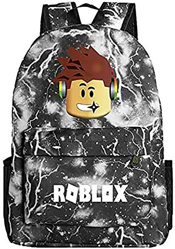 Lelestar Kids Backpack Luminous Daypack-Roblox School Bookbag Laptop Backpacks for Boys Girls Kids Teenagers Game Fans Gift (Colour 6)