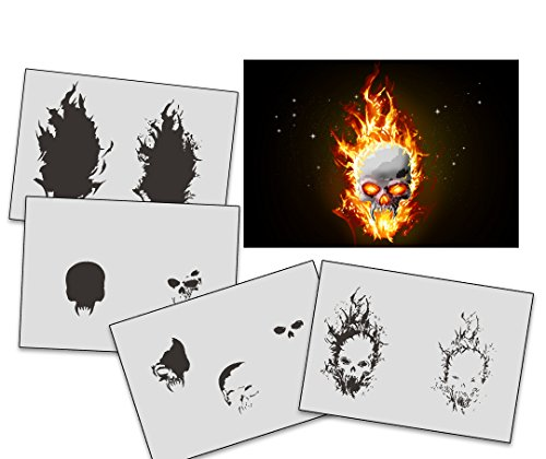 UMR-Design -   AS-326 Flames Skull