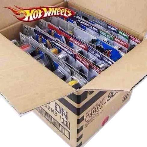 Hot Wheels Caixa C/ 10 Carrinhos Sortidos - Mattel
